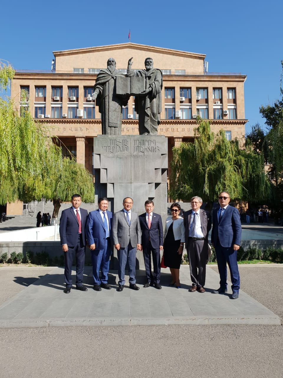 ENU delegation in Erevan